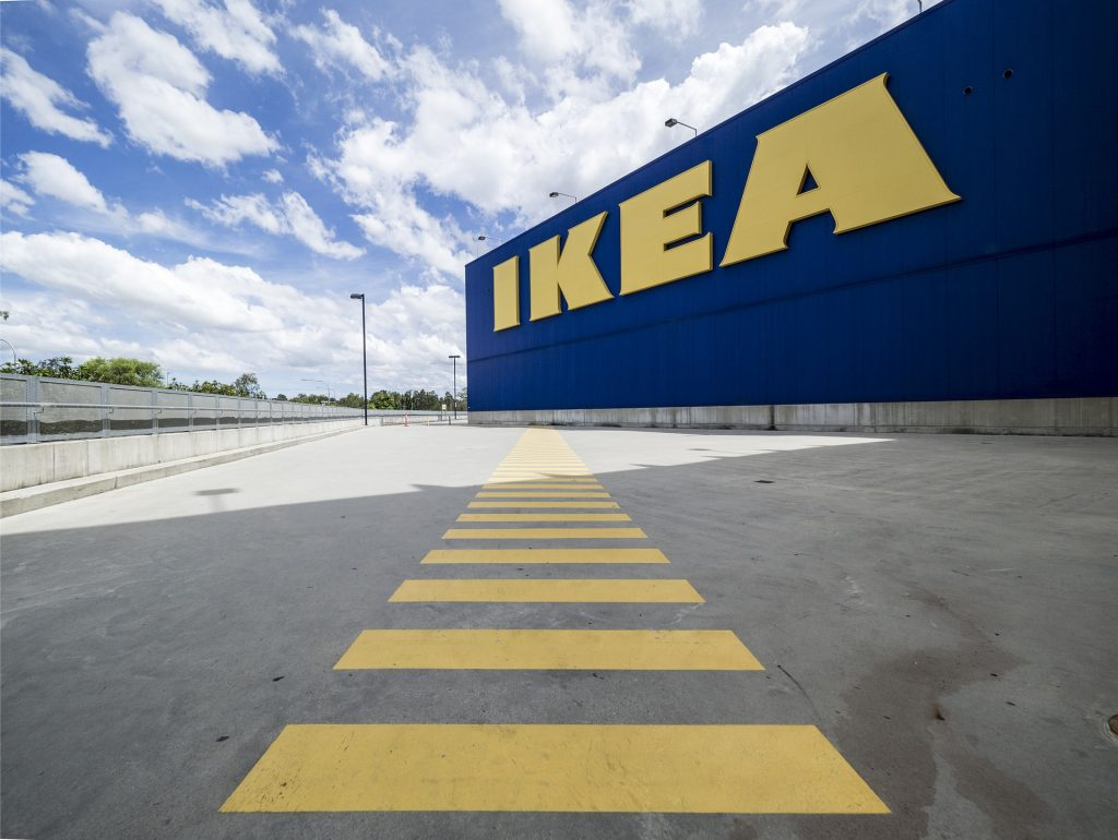 Furniture giant Ikea is struggling to supply about 1,000 product lines as a shortage of HGV drivers continues to hit businesses.