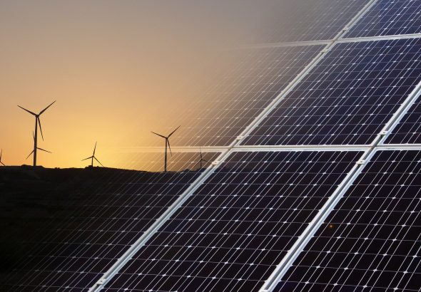 Solar and wind power are playing an increasingly important role in solving Africa's energy deficit
