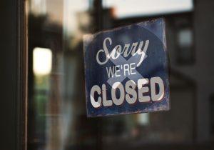 Computer business shutting down